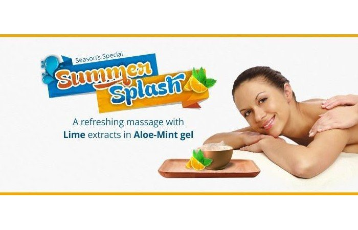 Fight the Heat Chaos With Summer Splash Massage in Mumbai